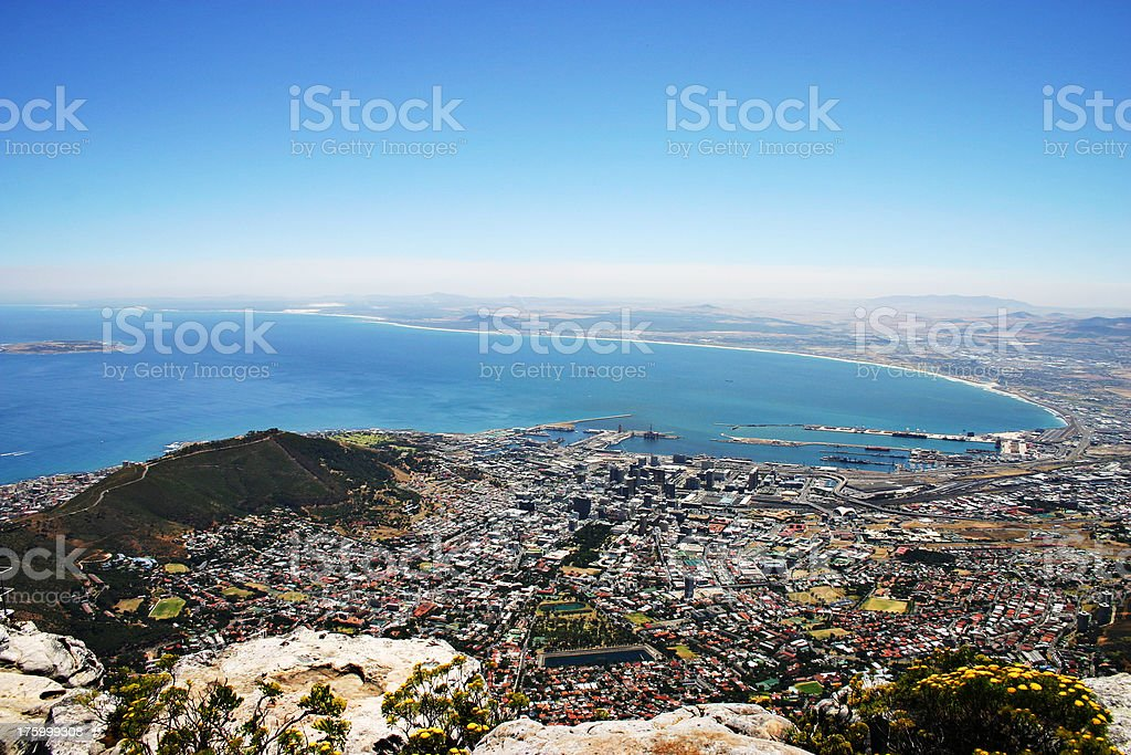 View From The Top royalty-free stock photo