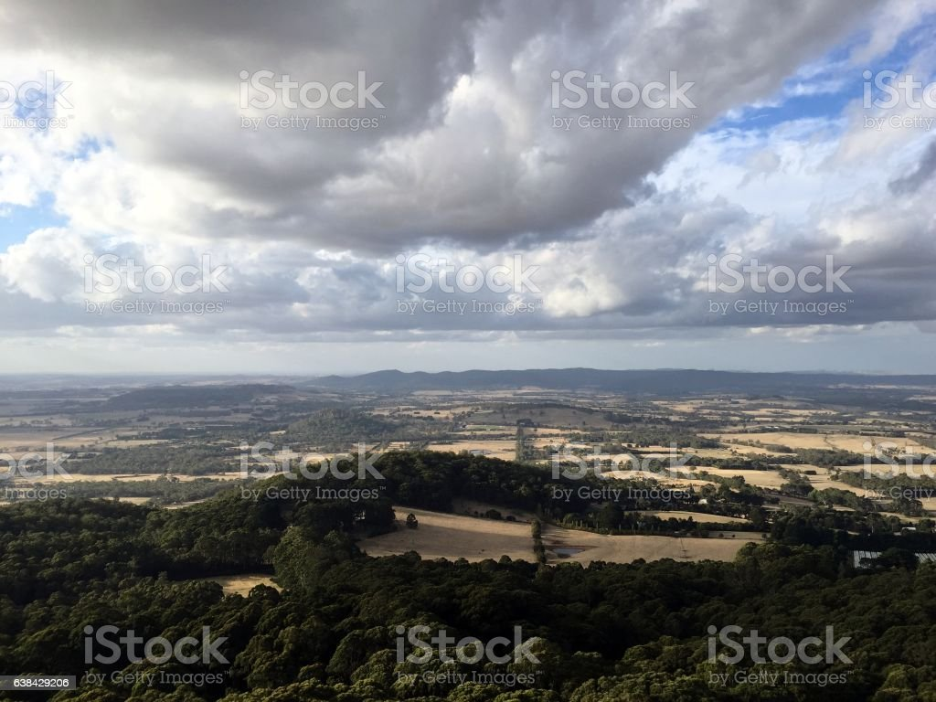 View from the top stock photo