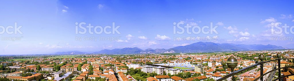 View From Top of Pisa royalty-free stock photo