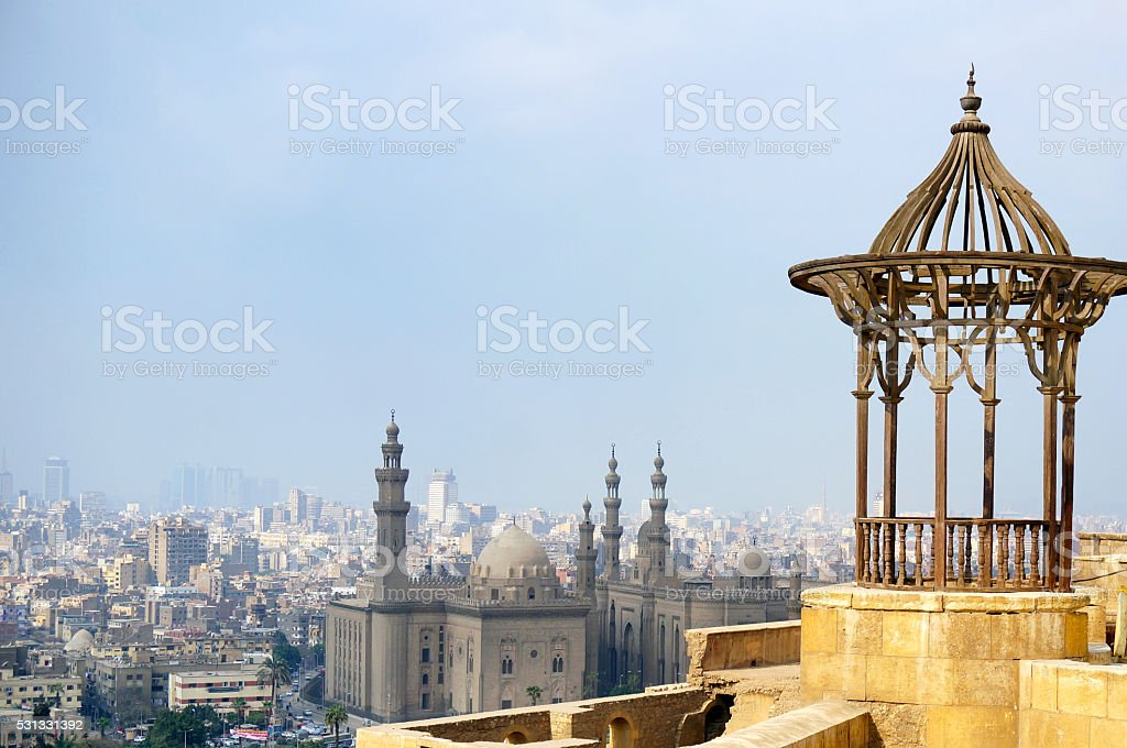 View from top stock photo