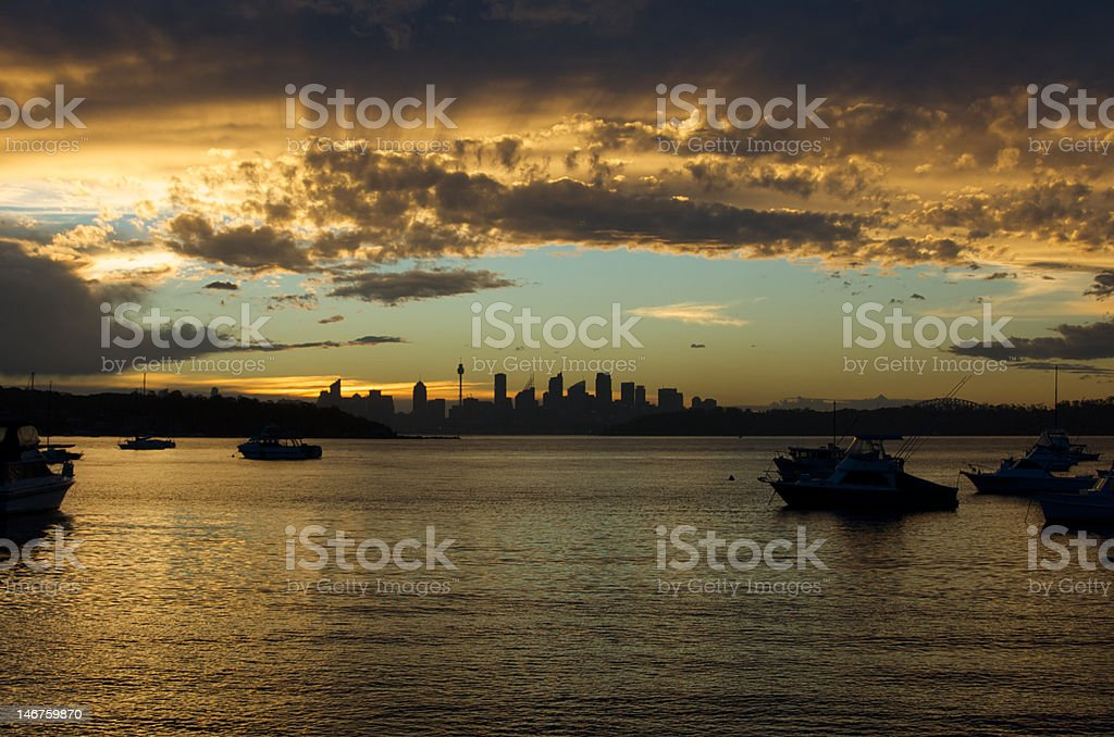 View from Watsons II royalty-free stock photo
