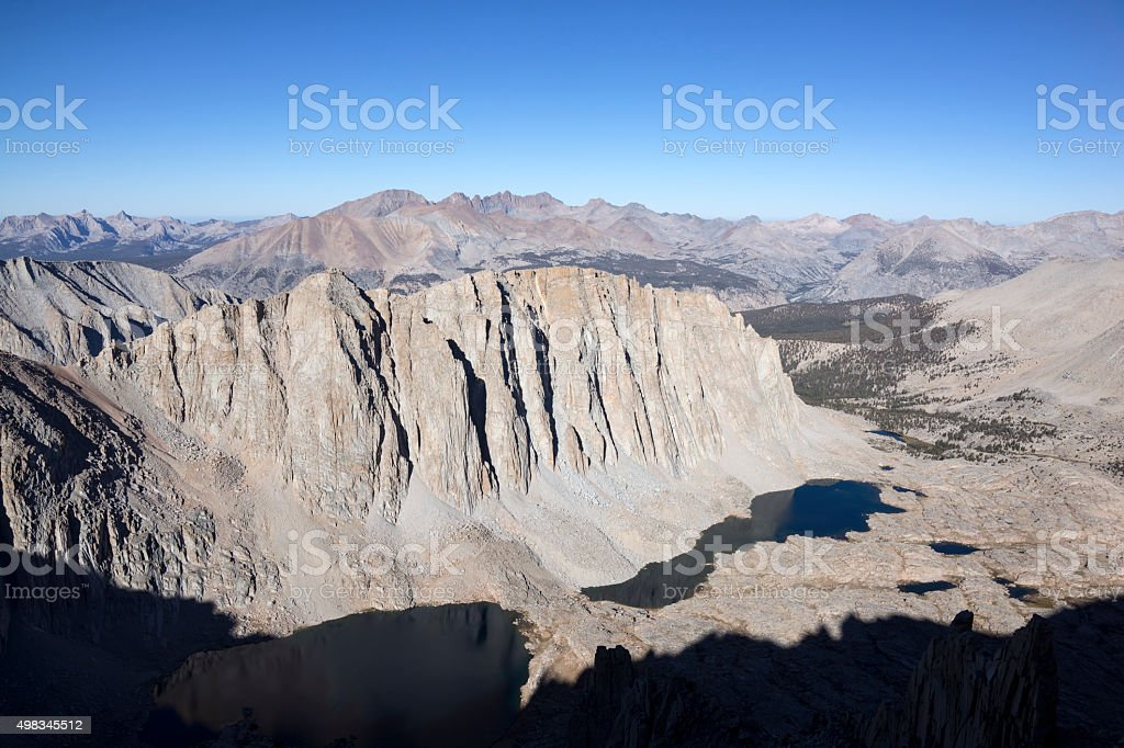 View from Whitney Summit stock photo