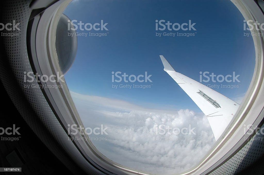 View in the Air royalty-free stock photo