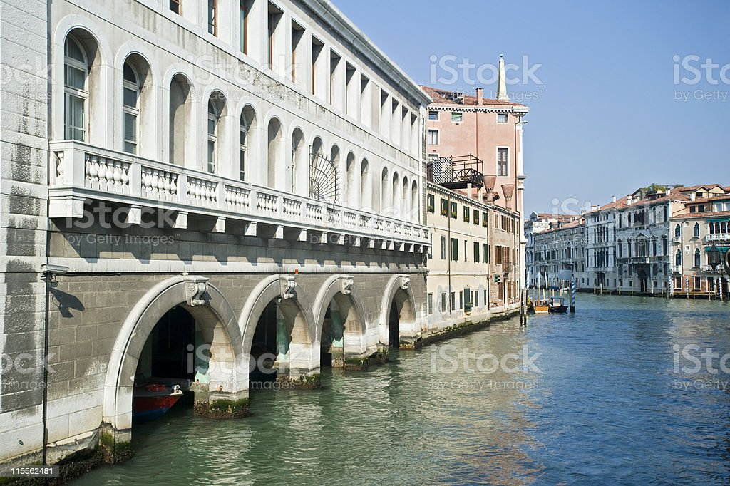 View into Canale Grande, Venice, Italy royalty-free stock photo