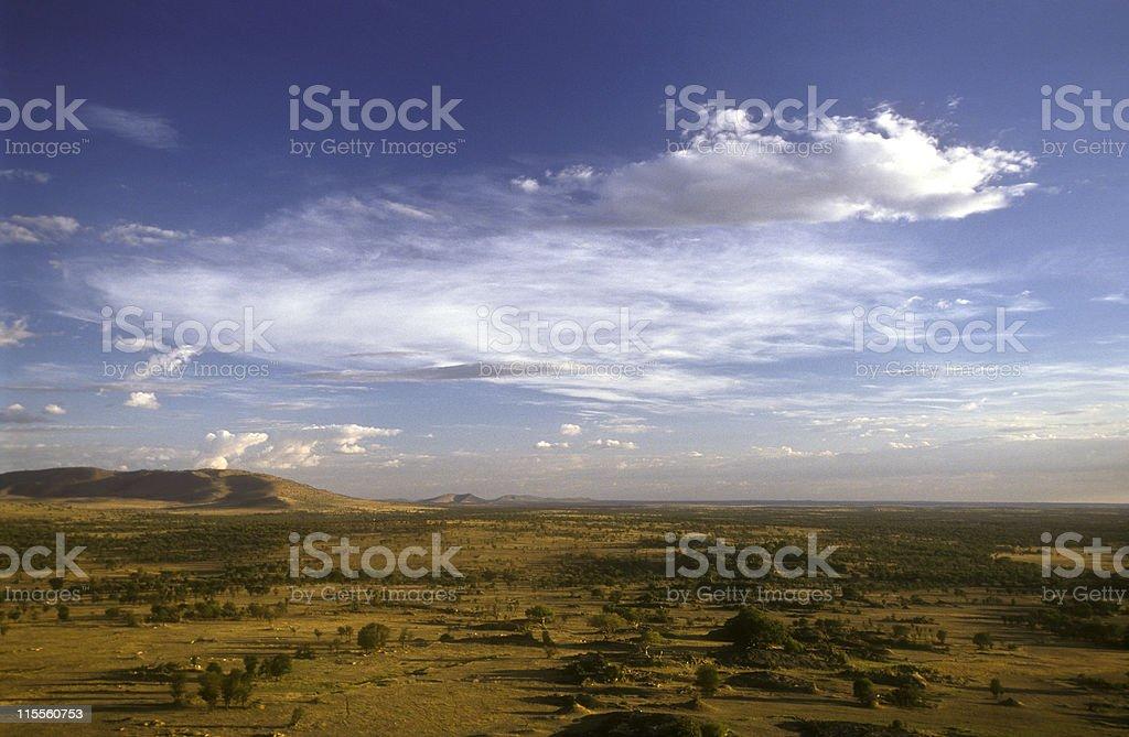 View into Lobo area, Serengeti/Tanzania stock photo