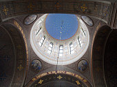 View into the Cupola of the Uspenski Cathedral, Helsinki, Finland.