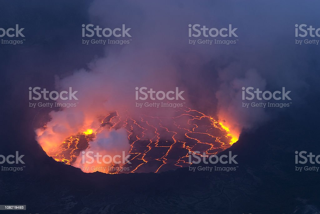 View into the heart of earth royalty-free stock photo