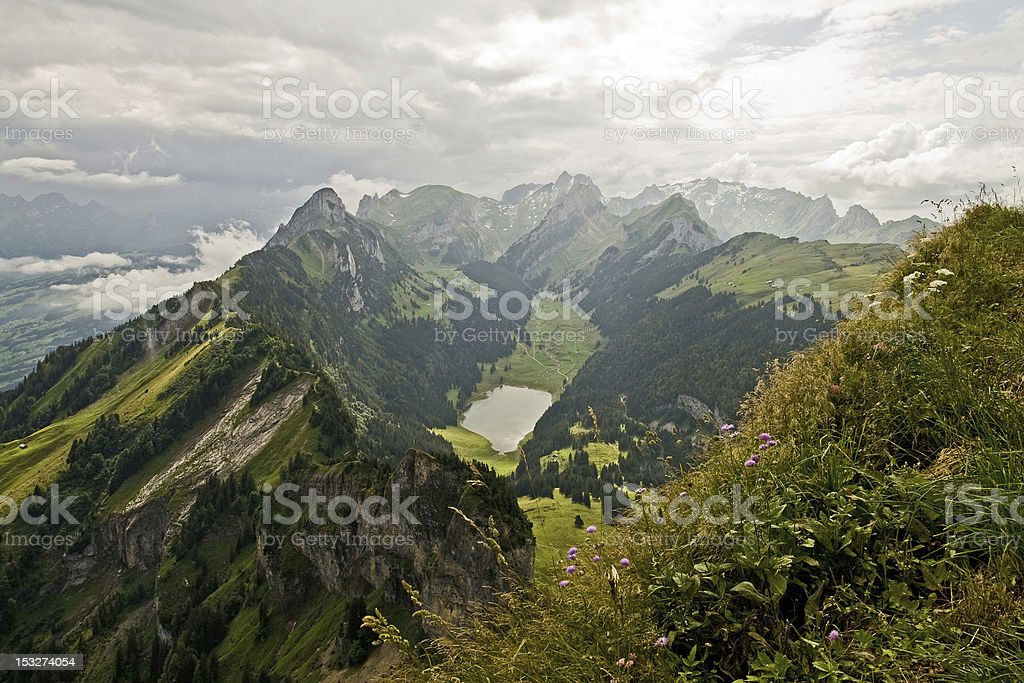 View into the mountains royalty-free stock photo
