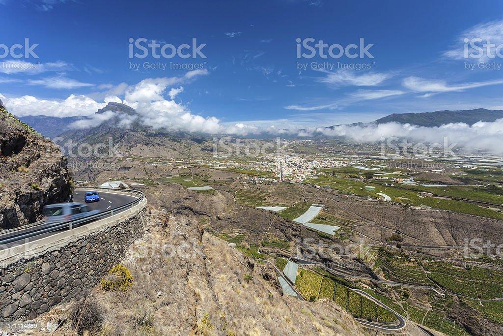 View - La Palma (Los Llanos) stock photo