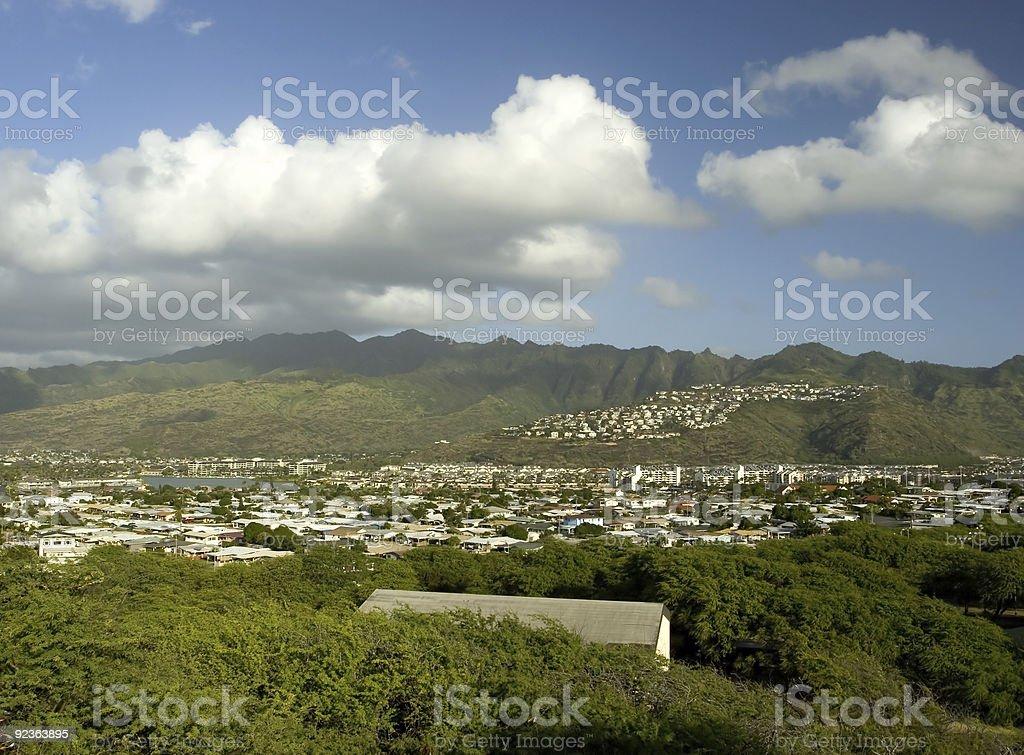 View, Near Koko Head stock photo