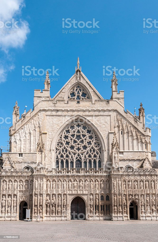 View Of A Cathedral stock photo