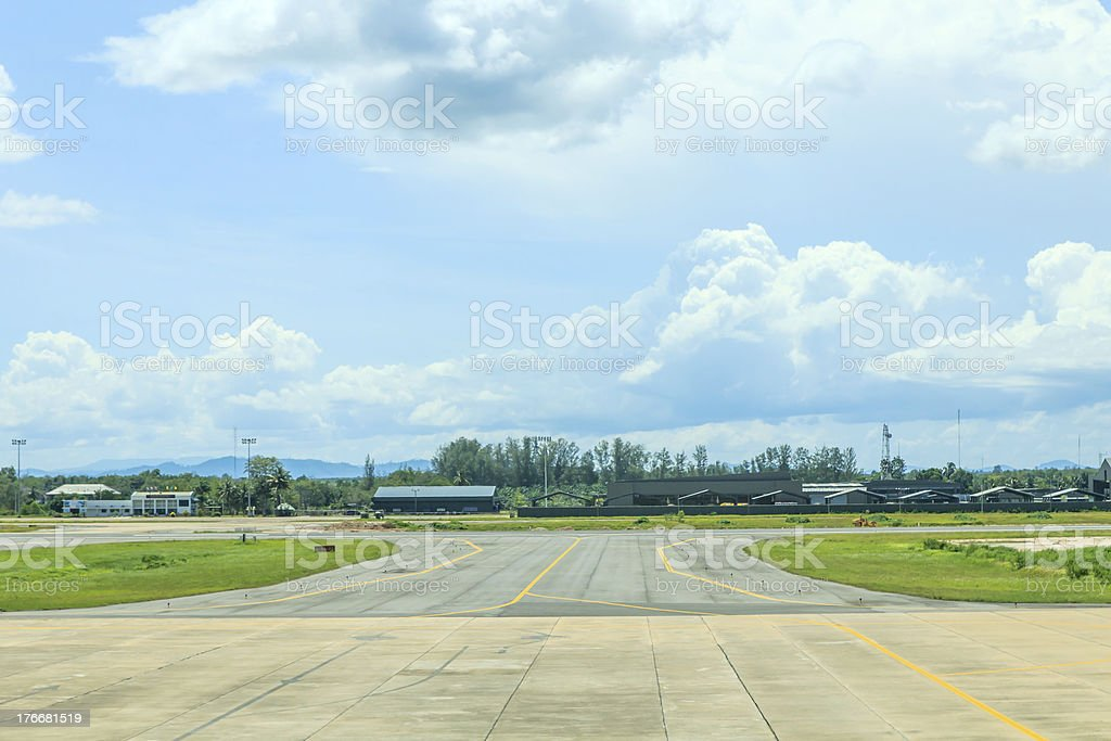 View of airport royalty-free stock photo