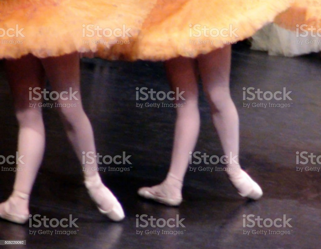 View Of Ballet Dance Moves stock photo