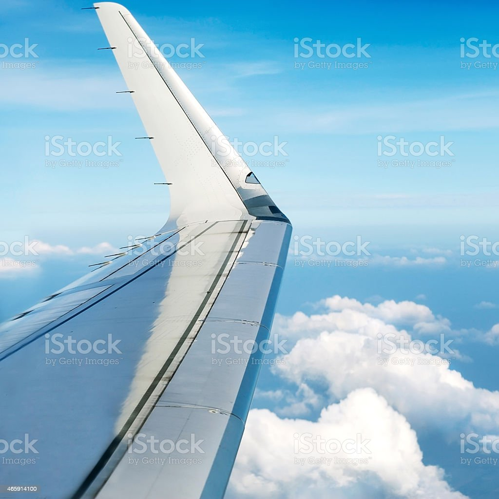 view of Bangkok with altitude stock photo