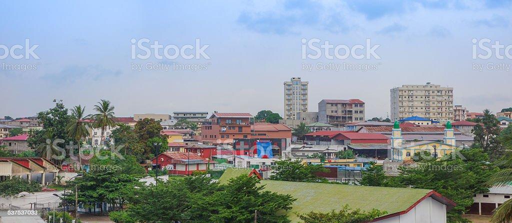 View of Bata stock photo