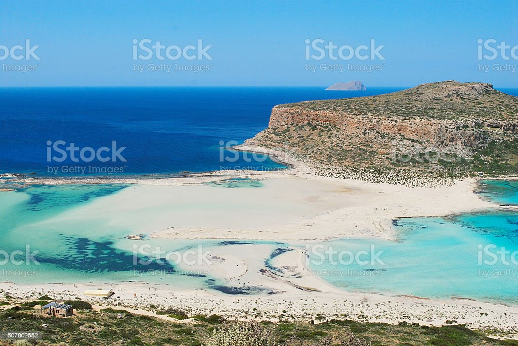 View of beautiful   beach stock photo