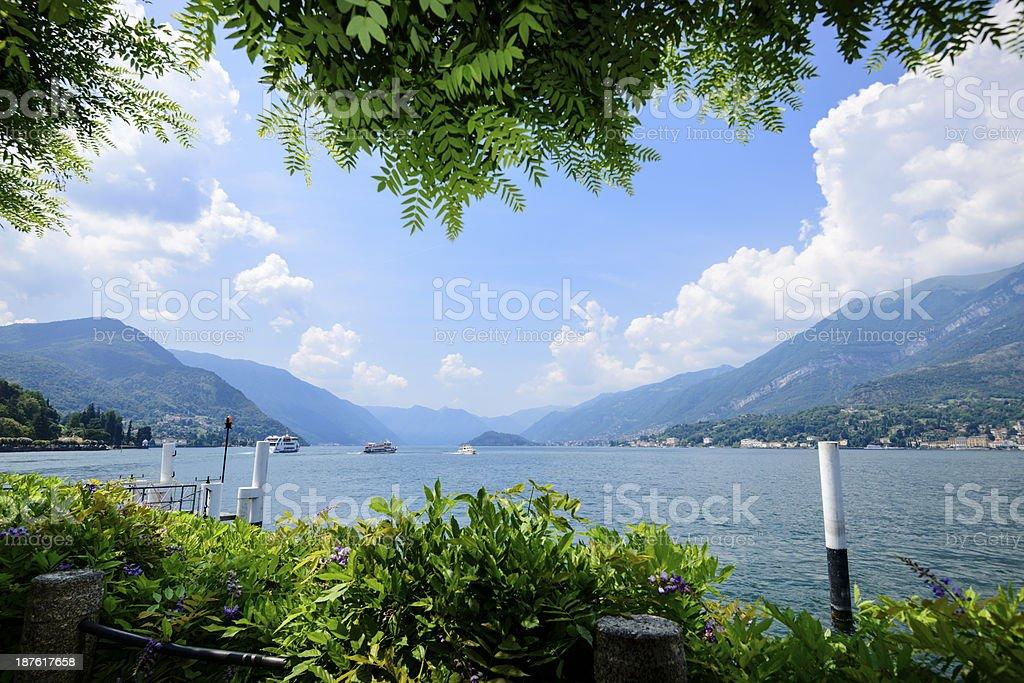 View of beautiful Lake Como, Italy -XXXL stock photo