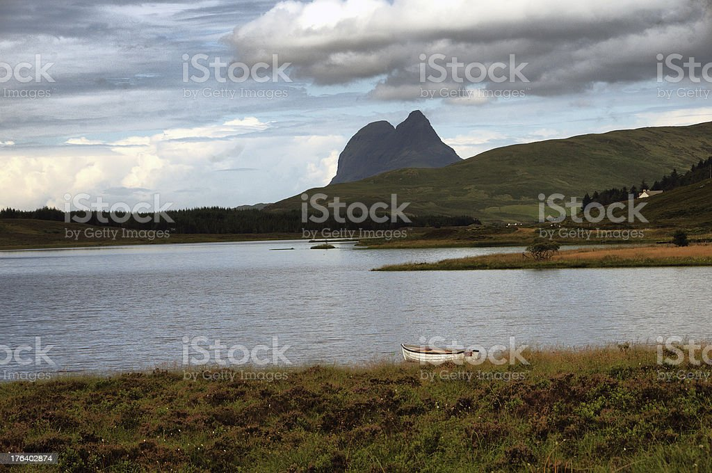 View of Ben More Assynt royalty-free stock photo