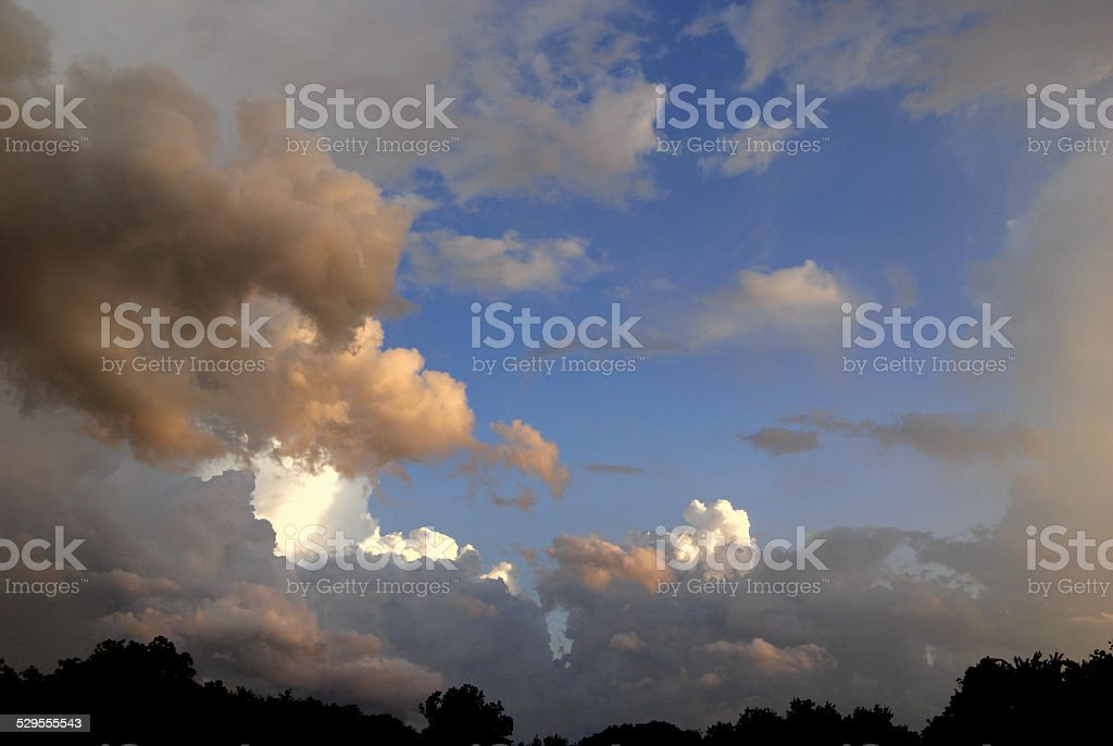View of Blue royalty-free stock photo