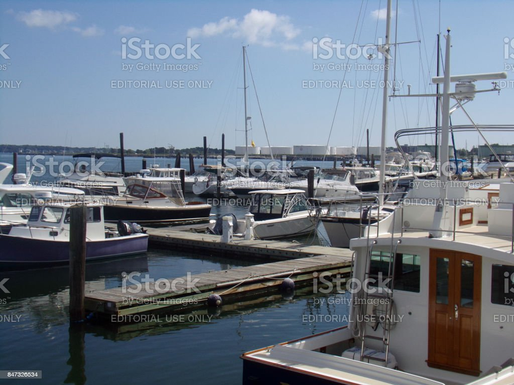 View of Boats stock photo