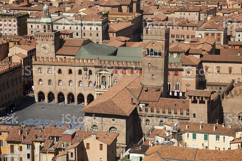 View of Bologna royalty-free stock photo