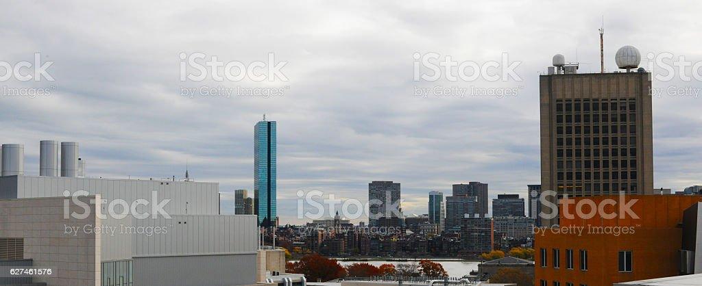 View of Boston stock photo