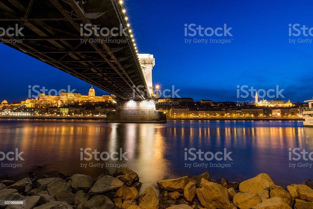 View of Budapest, Hungary stock photo