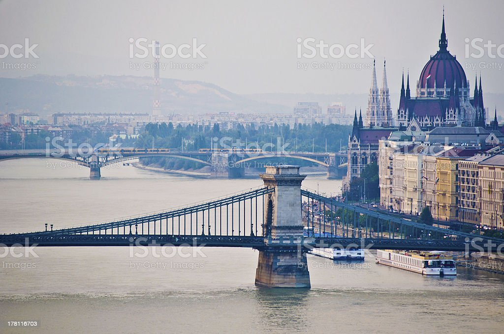 View of Budapest royalty-free stock photo