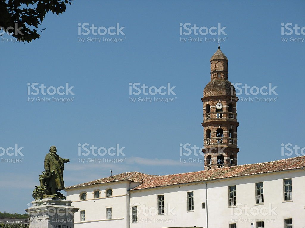 View of Cahors in France stock photo