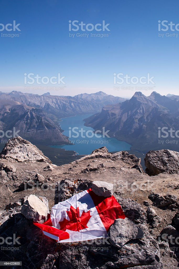 View of Canada stock photo