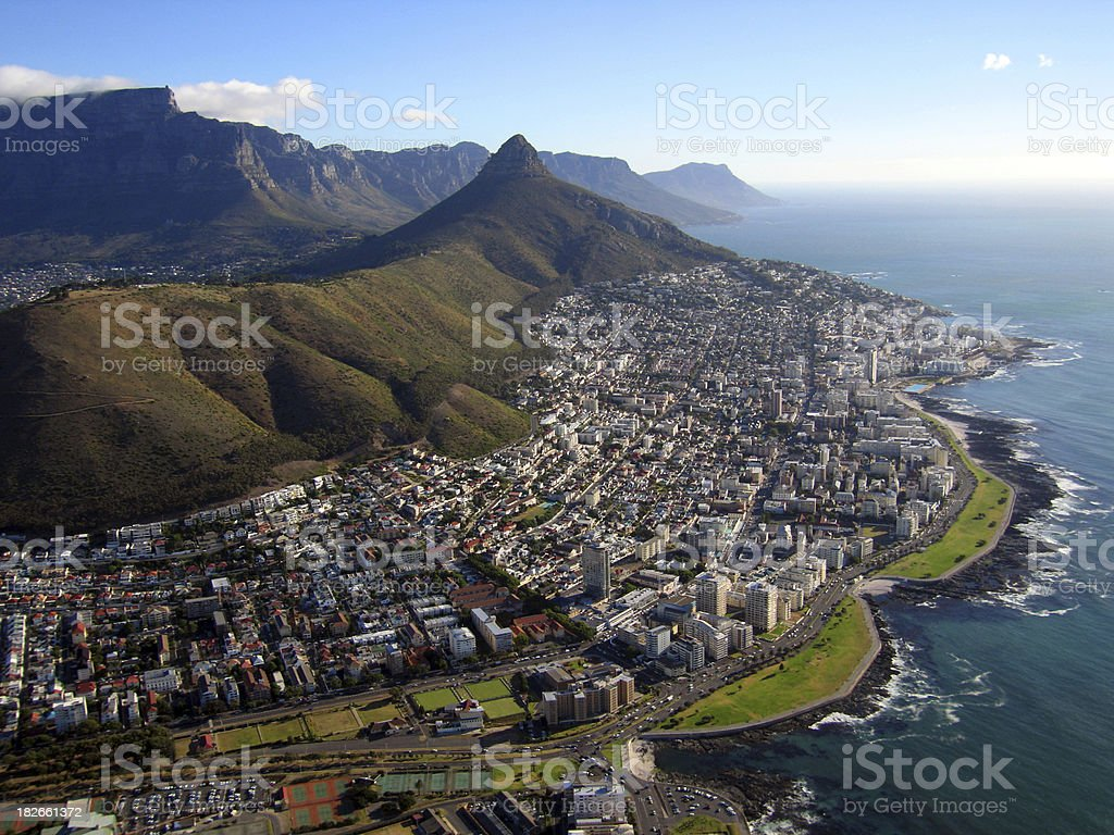 View of Cape Town royalty-free stock photo