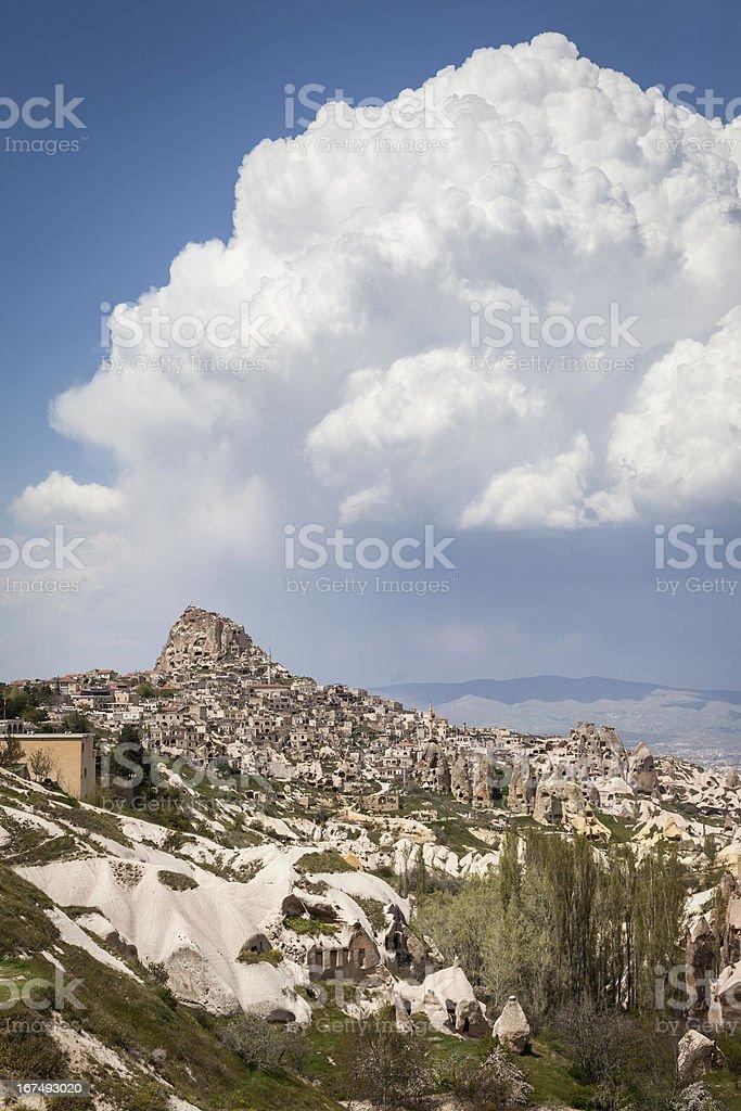 View of Cappadocia stock photo