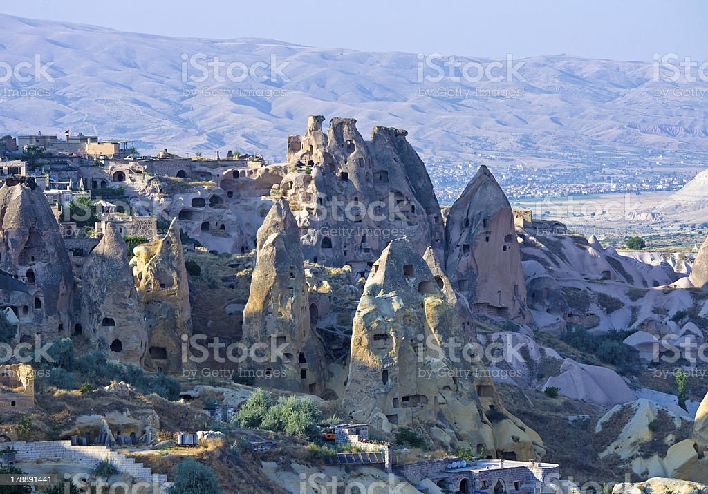 view of cappadocia royalty-free stock photo