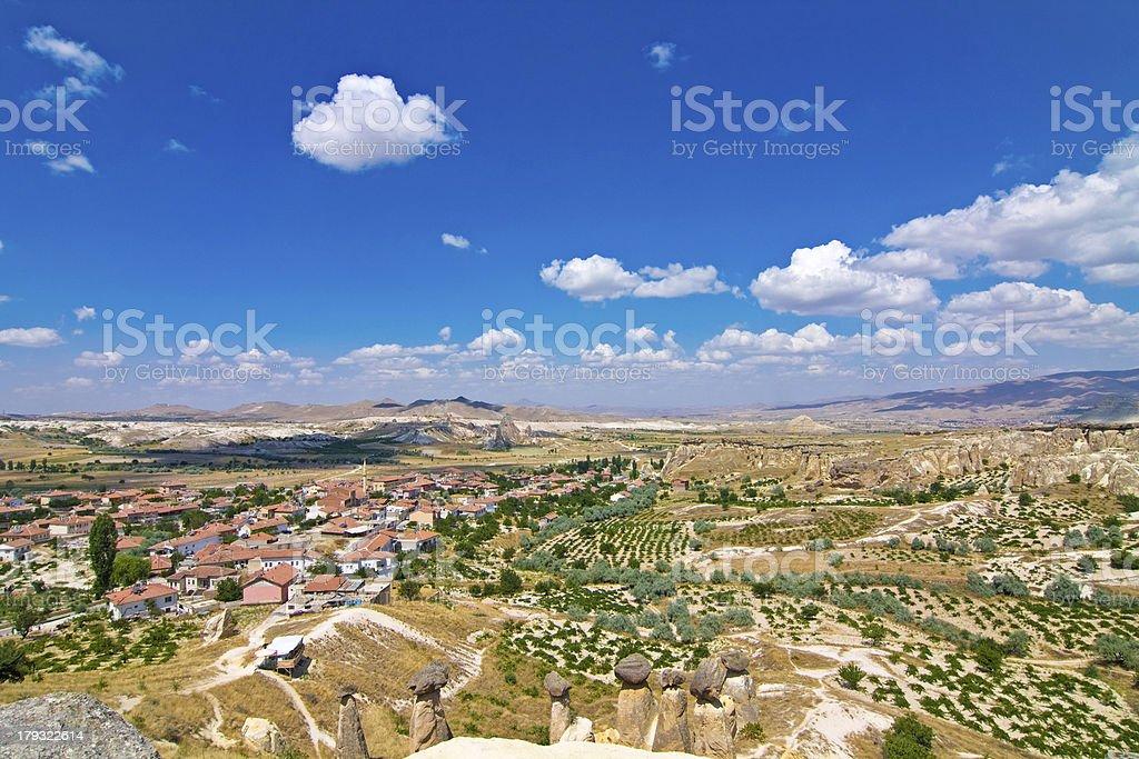view of cappadocia royalty-free stock photo