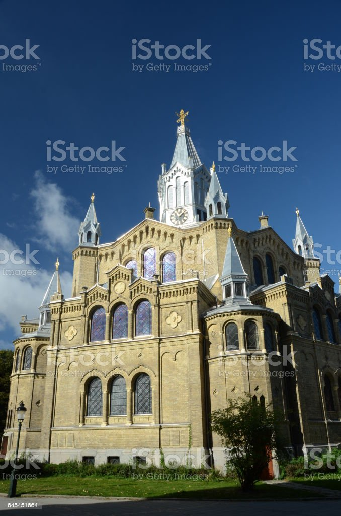 View of Church stock photo
