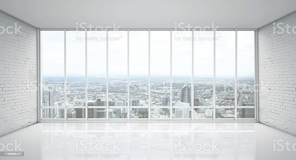 view of city stock photo
