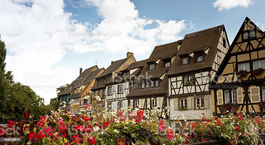 View of Colmar stock photo