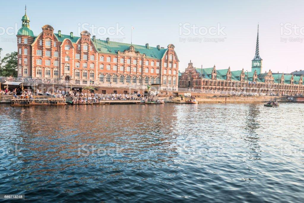 View of Copenhagen stock photo
