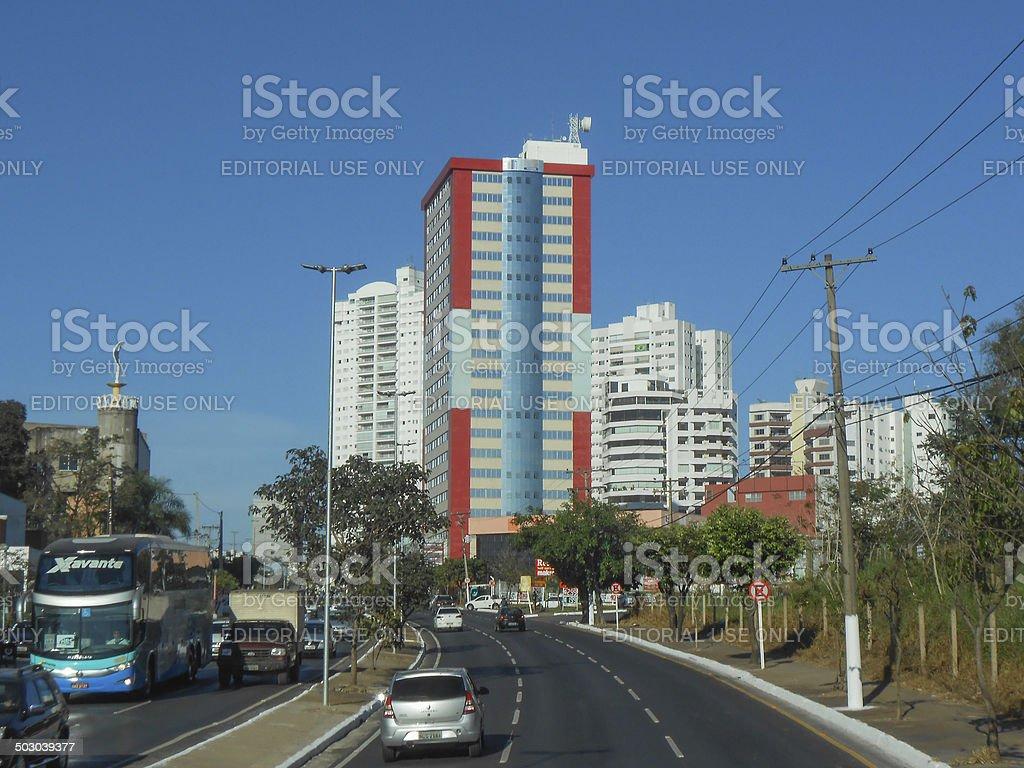 View of Cuiaba stock photo