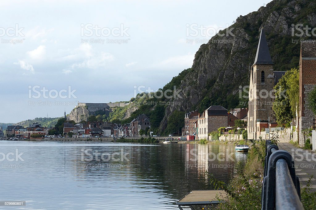 View of Dinant stock photo
