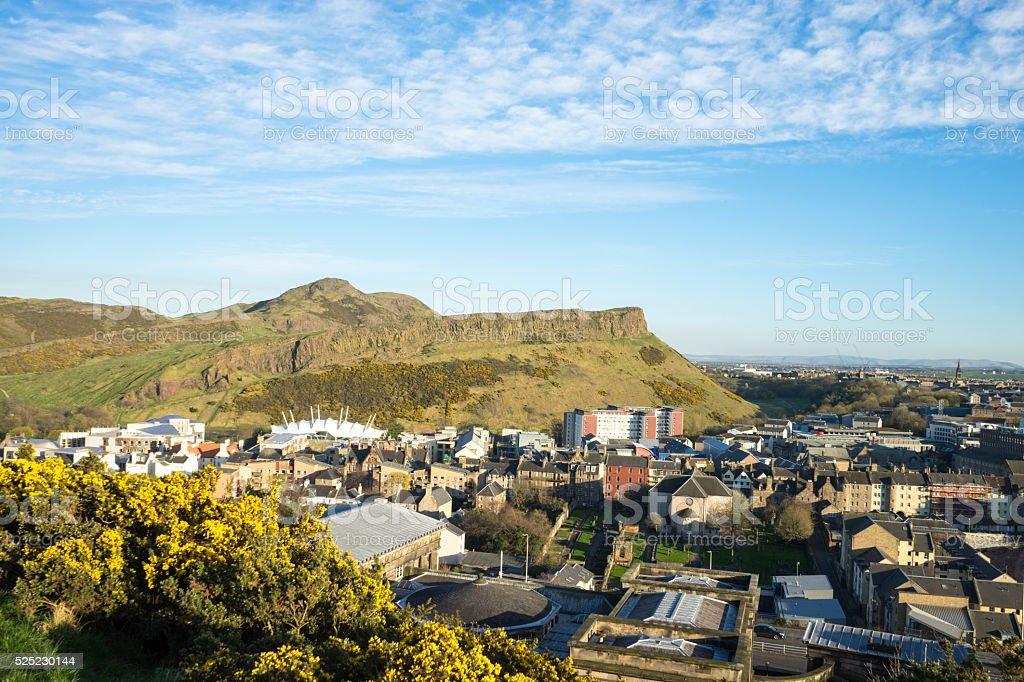 View of Edinburgh stock photo
