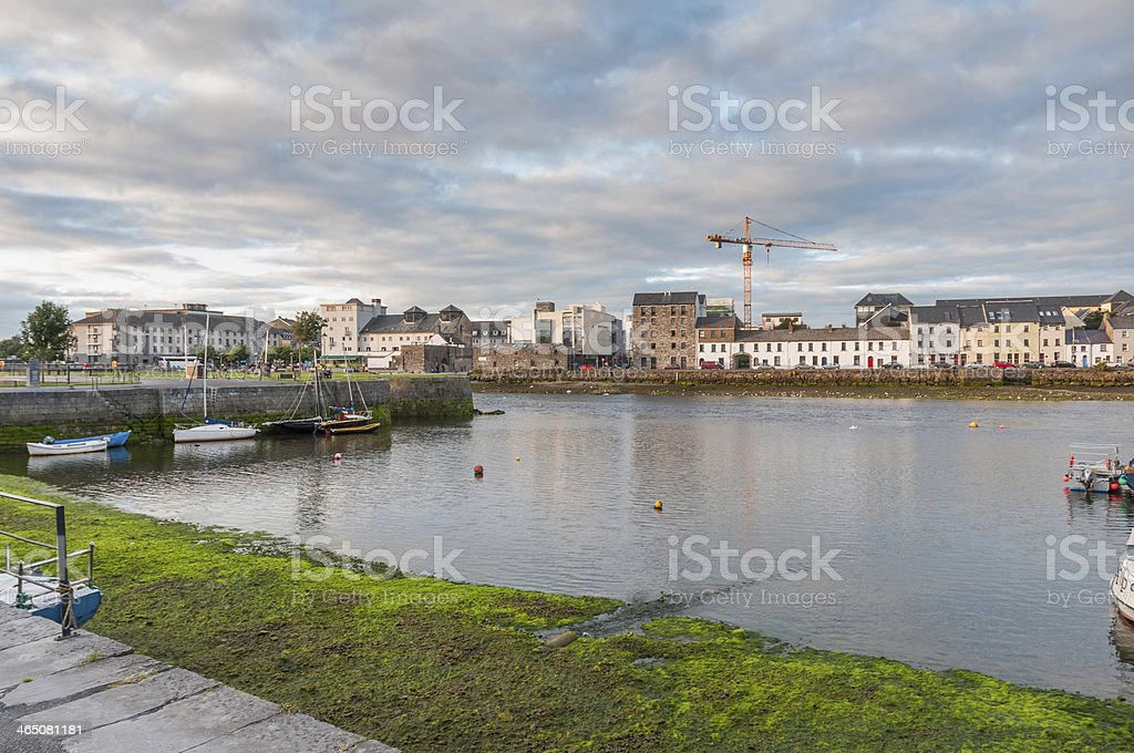 View of Galway. Ireland royalty-free stock photo