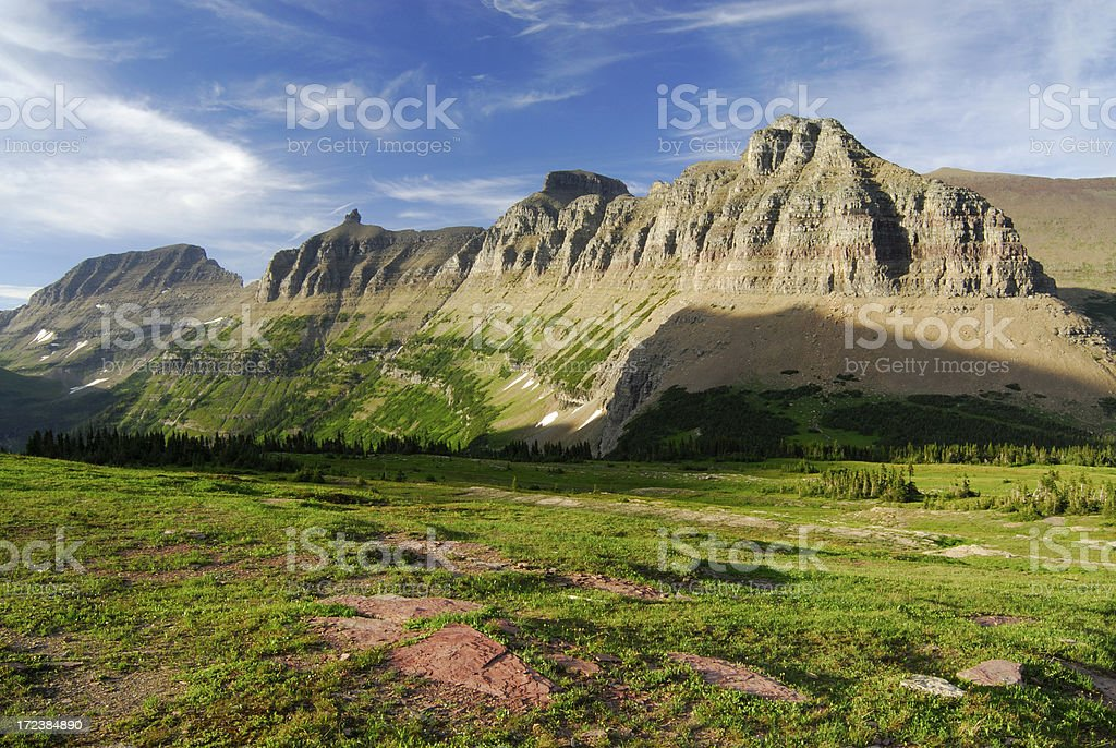 View of Garden Wall royalty-free stock photo
