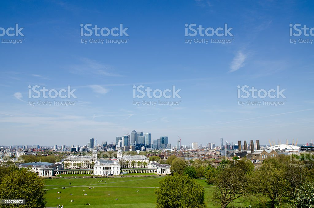 View of Greenwich university Campus stock photo