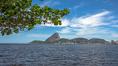 View of Guanabara Bay with Sugarloaf Mountain in the background