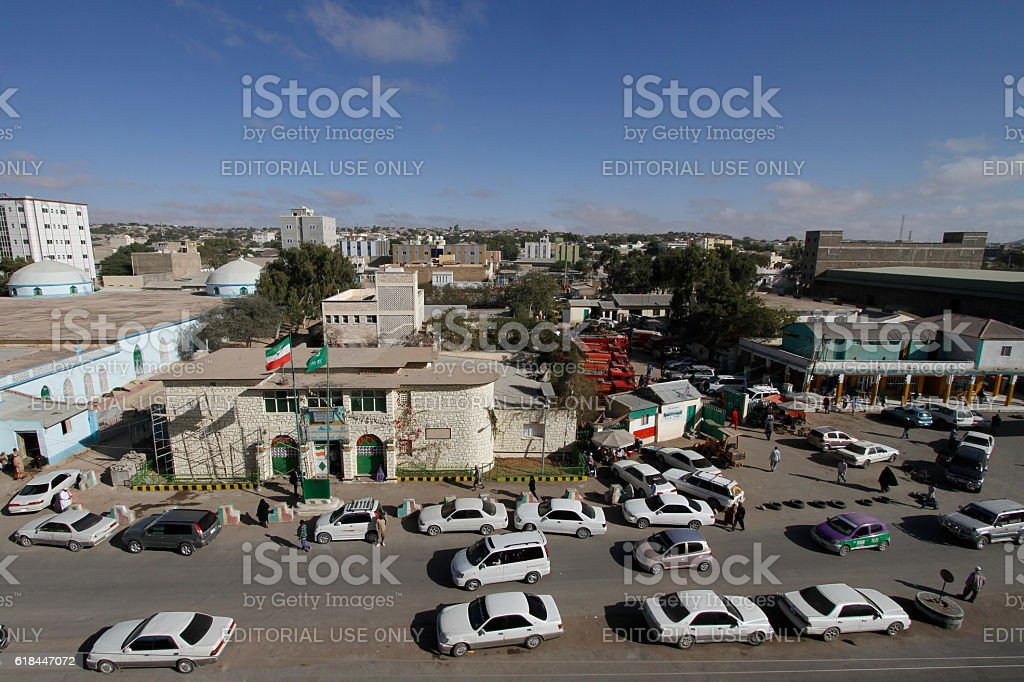 View of Hargeisa, capital of Somaliland stock photo