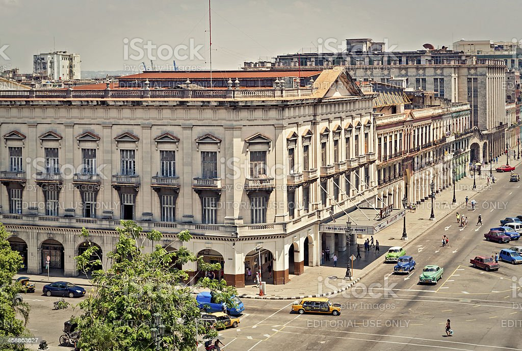 View of Havana, Cuba stock photo