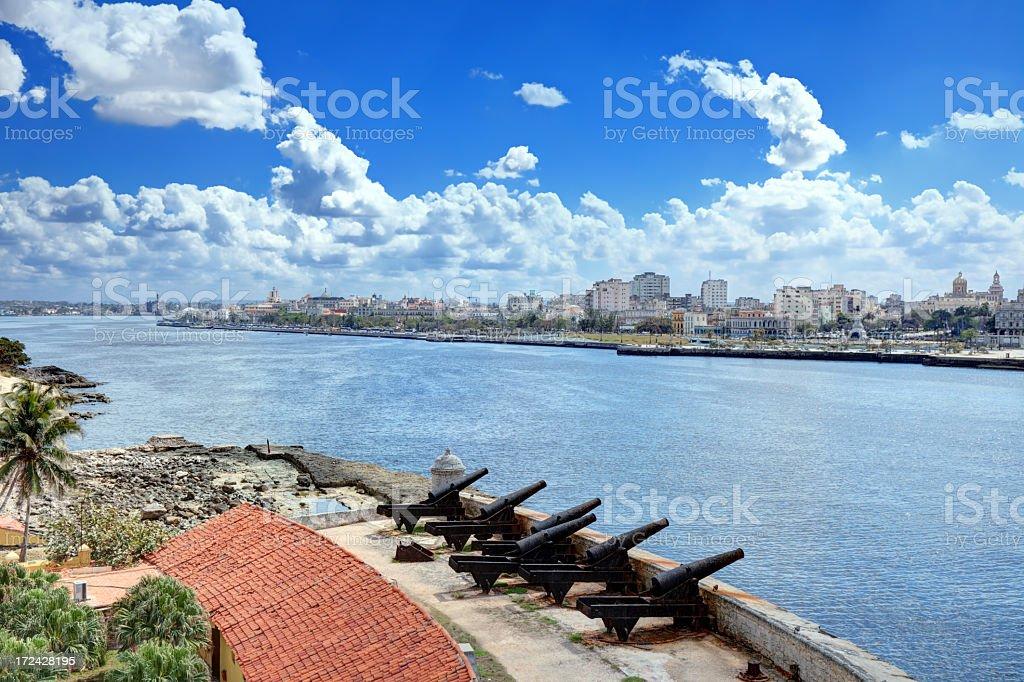View of Havana stock photo