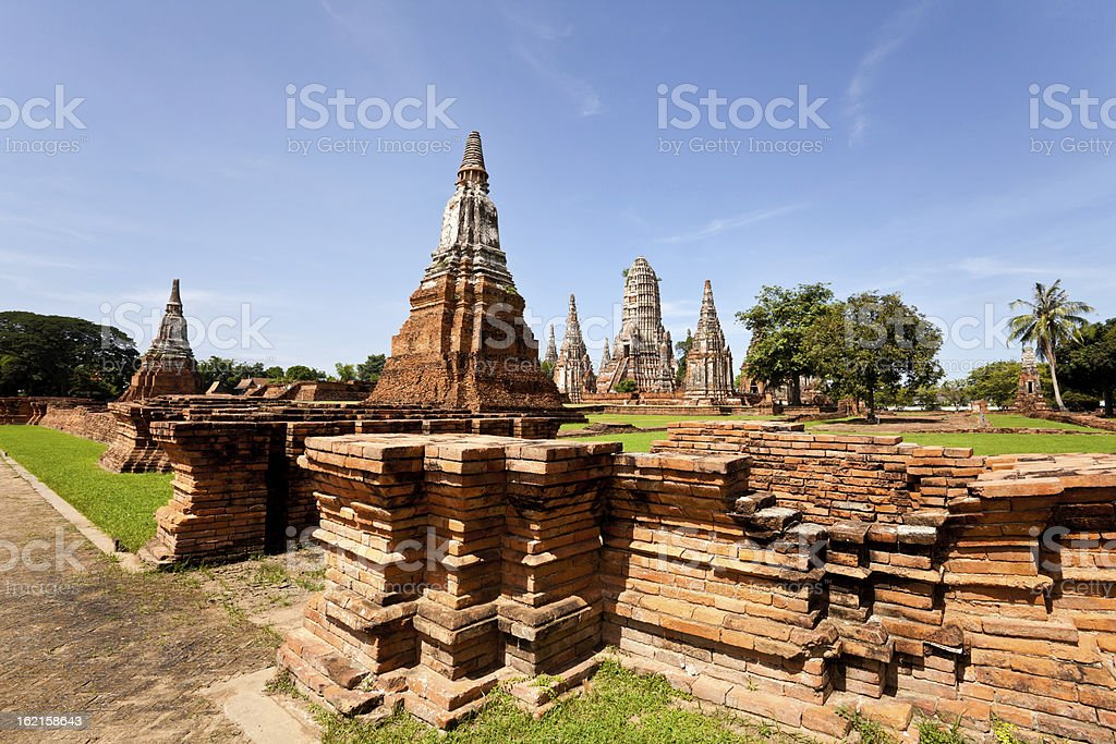 view of historical temple royalty-free stock photo