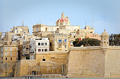 View of Il-Belt Valletta, Malta